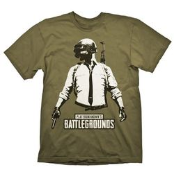 PUBG T-SHIRT GUY STENCIL XL
