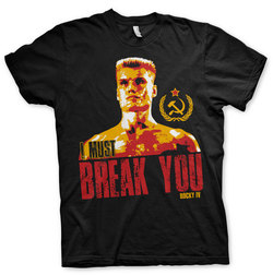 CAMISETA ROCKY I MUST BREAK YOU XXL