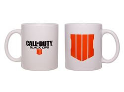 CALL OF DUTY BLACK OPS 4 BLACK LOGO MUG