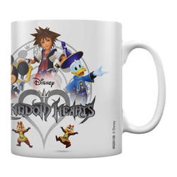 KINGDOM HEARTS MUG LOGO