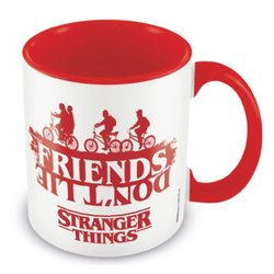 TAZA STRANGER THINGS FRIENDS