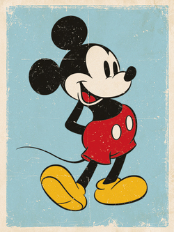 CUADRO CANVAS DISNEY MICKEY 30 X 40