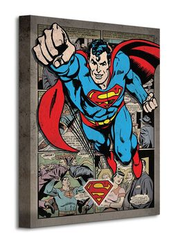 CUADRO CANVAS SUPERMAN 30 X 40