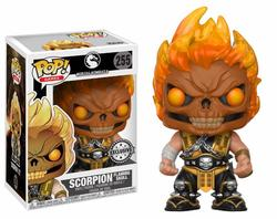 POP FIGURE MORTAL KOMBAT: SCORPION SKULL HEAD