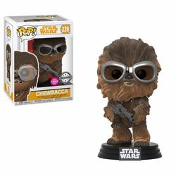 FIGURA POP STAR WARS: CHEWIE GOGGLES FLOCKED