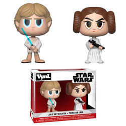 FIGURA VYNL PACK STAR WARS LUKE & LEIA