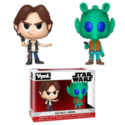 FIGURA VYNL PACK STAR WARS SOLO & GREEDO