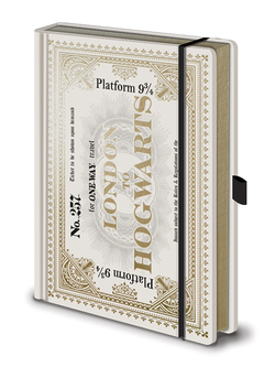 LIBRETA PREMIUM A5 HARRY POTTER TICKET