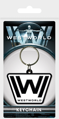 RUBBER KEYCHAIN WESTWORLD