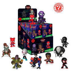 ANIMATED SPIDER-MAN MYSTERY MINIS BOX (12)