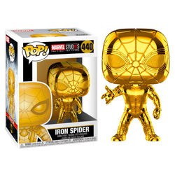 POP FIGURE MARVEL: CHROME IRON SPIDER