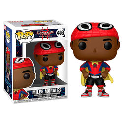 POP FIGURE SPIDERMAN: MILES MORALES CAPUCHA