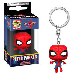 LLAVERO POP SPIDERMAN ANIMATED PETER PARKER