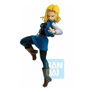 FIGURA BANPRESTO DRAGON BALL ANDROID 18 16 CM