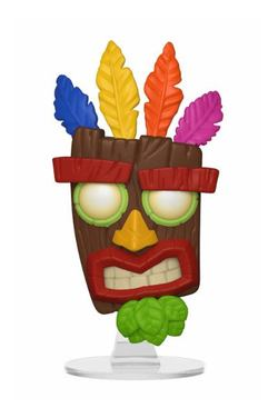 FIGURA POP CRASH BANDICOOT: AKU AKU