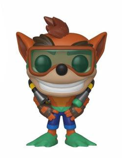 FIGURA POP CRASH BANDICOOT: CRASH SCUBA