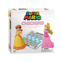 SUPER MARIO BOARDGAME CHECKERS PRINCESS POWER (ENGLISH)