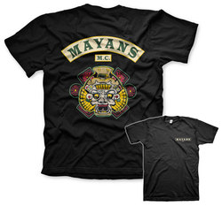 CAMISETA SONS OF ANARCHY MAYANS XXL