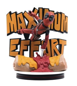 FIGURA QM DEADPOOL MAXIMUM EFFORT 14 CM