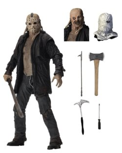 JASON VOORHEES  FIGURE FRIDAY THE 13th 2009 18 CM