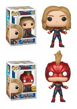 CAJA POP CAPTAIN MARVEL CHASE 5+1