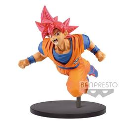 FIGURA BANPRESTO DRAGON BALL GOKU GOD FEST 15 CM
