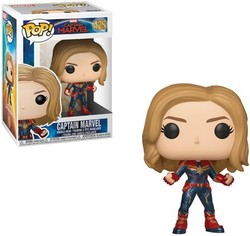 FIGURA POP CAPTAIN MARVEL: CAPTAIN MARVEL HAIR