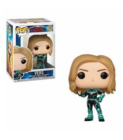 FIGURA POP CAPTAIN MARVEL: CAPTAIN MARVEL VERS