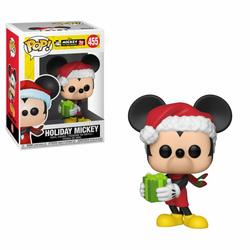 FIGURA POP MICKEY MOUSE: MICKEY 90TH HOLIDAY