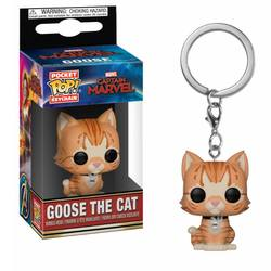 LLAVERO POP CAPTAIN MARVEL GOOSE THE CAT