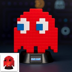 PACKMAN BLINKY RED MINI LAMP 10 CM