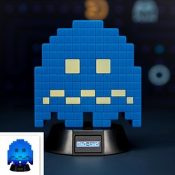 LAMPARA MINI PACMAN BLUE GHOST 10 CM