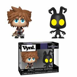 KINGDOM HEARTS 3 VYNL PACK SORA & HEARTLESS