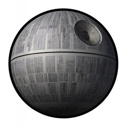 STAR WARS DEATH STAR PICNIC RUG 150X200