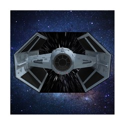 STAR WARS TIE FIGHTER PICNIC RUG 150X200