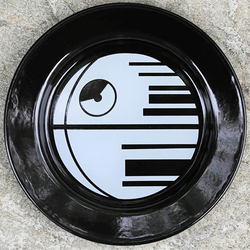 STAR WARS DEATH STAR RETRO METAL PICNIC PLATE