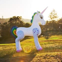 INFLATABLE UNICORN 198 CM