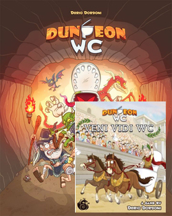 DUNGEON WC CASE (6) (SPANISH EDITION)