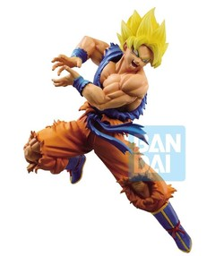 BANPRESTO FIGURE DRAGON BALL GOKU SAIYAN  Z BATTLE 16 CM