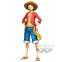 BANPRESTO FIGURE ONE PIECE GRANDISTA LUFFY 27 CM