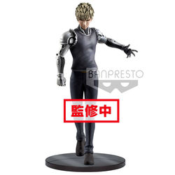 FIGURA BANPRESTO ONE PUNCH MAN GENOS 20 CM