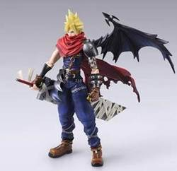 FINAL FANTASTY BRING CLOUD VARIANT FIGURE 18 CM