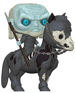 POP FIGURE GAME OF THRONES: WHITE WALKER ON HORSE