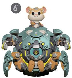 POP FIGURE OVERWATCH: WRECKING BALL
