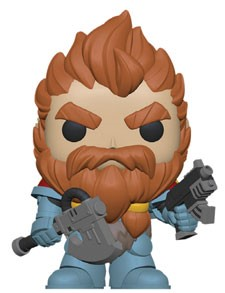 POP FIGURE WARHAMMER 40K: SPACE WOLVES LEADER