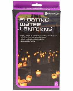 WATER LITTLE LAMPS (10)