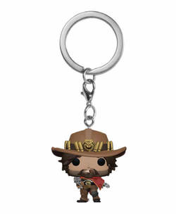 POP KEYCHAIN OVERWATCH MCCREE