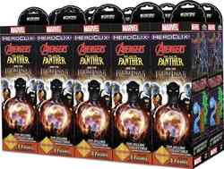 MARVEL HEROCLIX BLACK PANTHER & ILLUMINATI BRICK