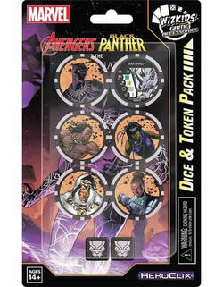 MARVEL HEROCLIX BLACK PANTHER & ILLUMINATI TOKENS