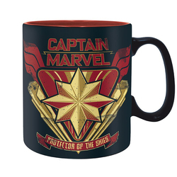 CAPTAIN MARVEL LOGO MUG
